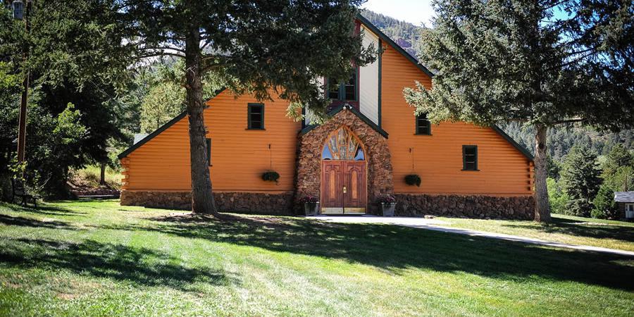 The Historic Pinecrest wedding Colorado Springs