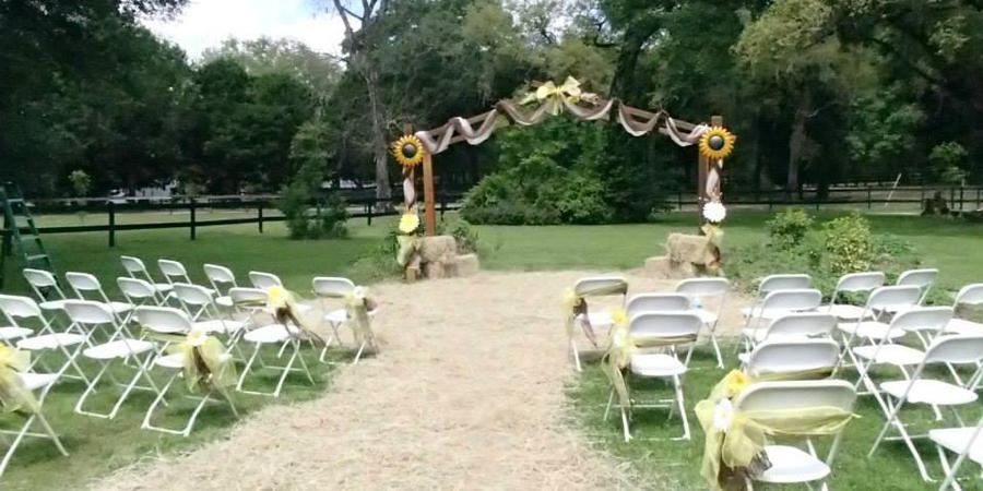 Cypress House Ranch B&B wedding Tampa