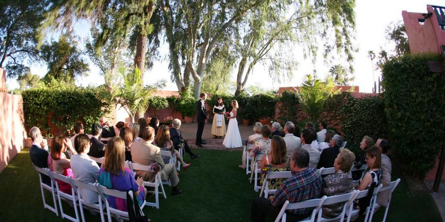 Arizona Inn wedding Tucson