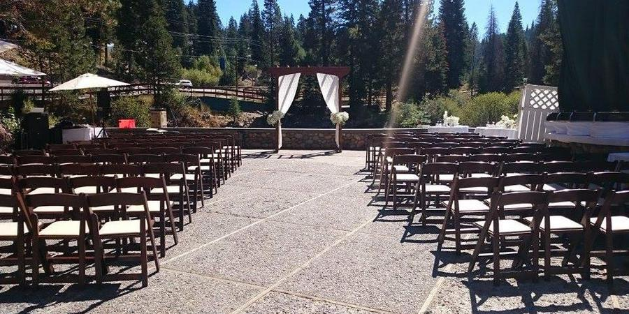 River Ranch Lodge and Restaurant wedding Tahoe
