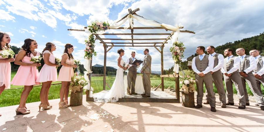Deer Creek Valley Ranch wedding Denver