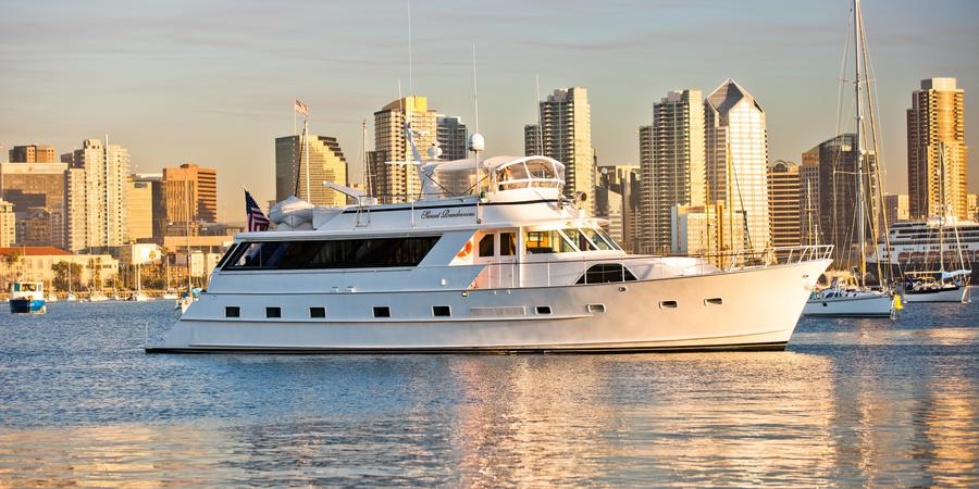 Sunset Rendezvous Yacht Charters wedding San Diego