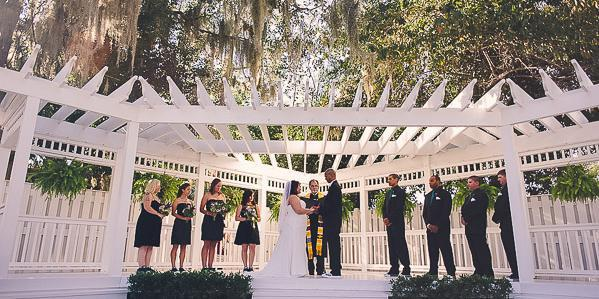 The Hilliard Mansion wedding Jacksonville