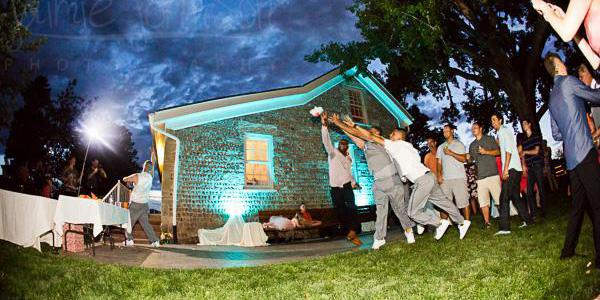 Weddings at Lakewood Stone House wedding Denver