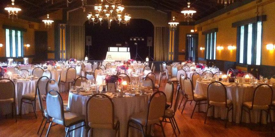 The Kenilworth Assembly Hall wedding Chicago