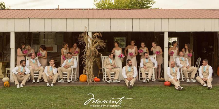 Emerson Creek Pottery & Tearoom wedding Chicago