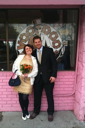 Voodoo Doughnut Too wedding Portland