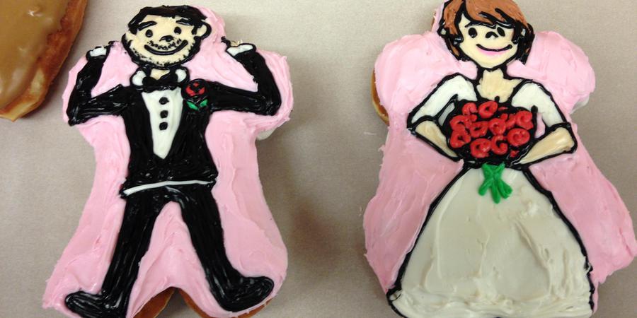 Voodoo Doughnut Tres wedding Willamette Valley