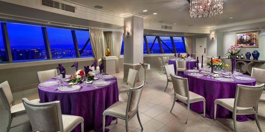 The Chapel in the Clouds at the Stratosphere Hotel wedding Las Vegas