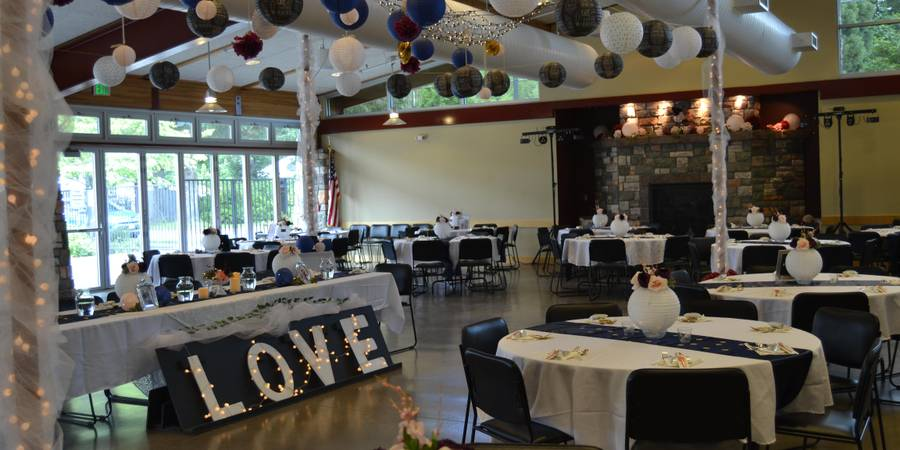 Battle Ground Community Center wedding Tacoma