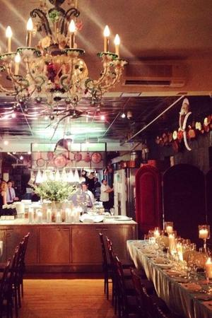 Bouley Test Kitchen - Tribeca wedding Manhattan