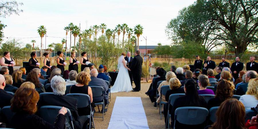 Reid Park Zoo wedding Tucson