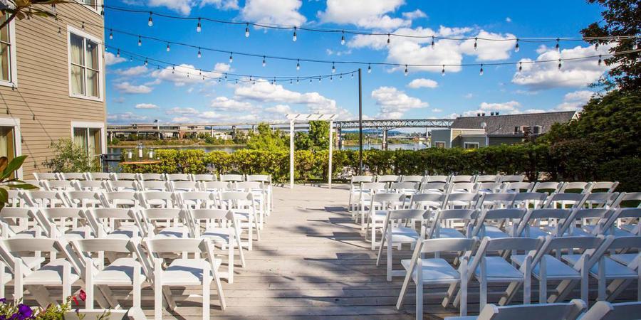 Kimpton RiverPlace Hotel wedding Portland