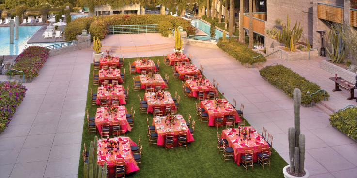 Hyatt Regency Scottsdale Resort & Spa at Gainey Ranch wedding Phoenix/Scottsdale