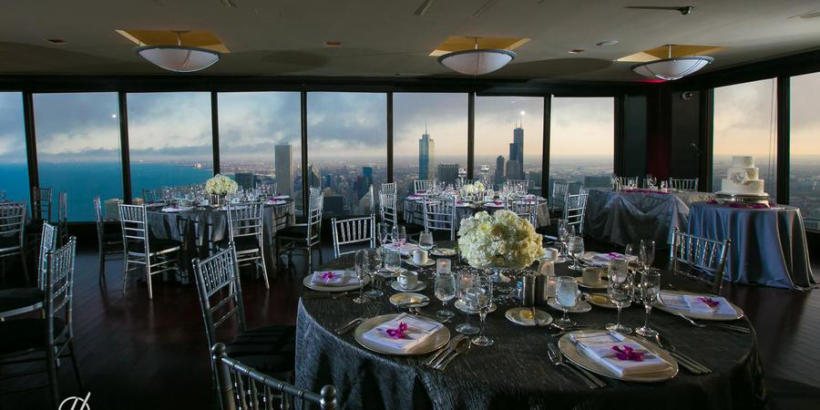 The Signature Room at the 95th wedding Chicago