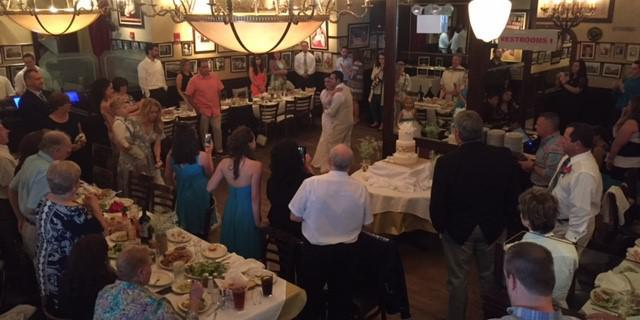 Carmine's Atlantic City wedding Atlantic City