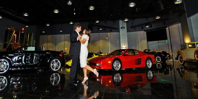 Club Auto Sport wedding South Bay