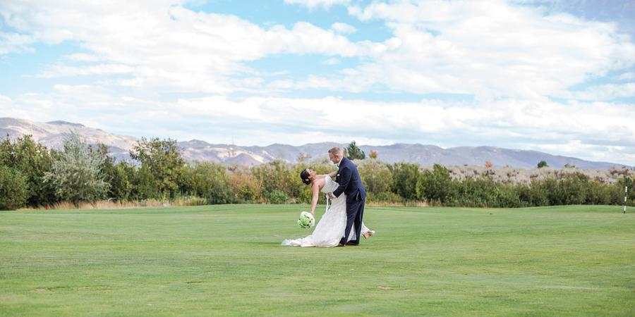 Wolf Run Golf Course wedding Reno