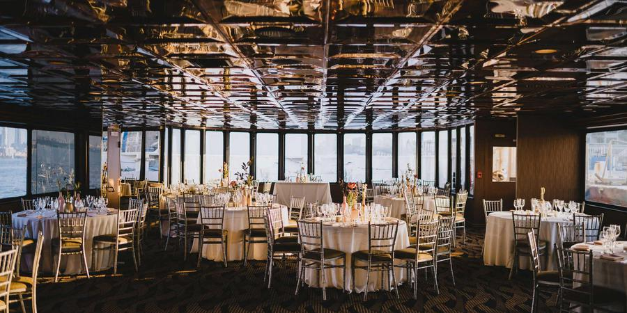 Elite Private Yachts, by Entertainment Cruises wedding Manhattan