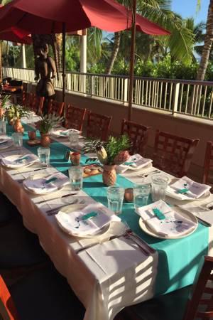 Tiki's Grill & Bar wedding Honolulu