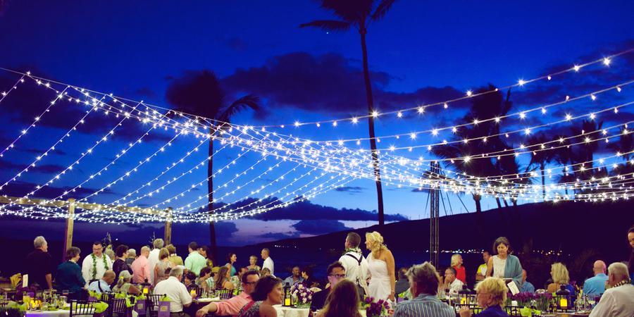 Sugar Beach Events of Hawaii wedding Maui