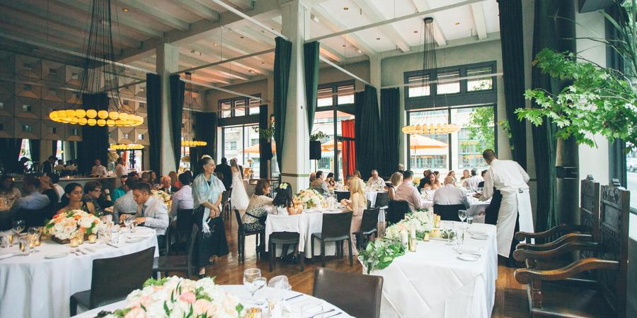 Bluehour Restaurant wedding Portland