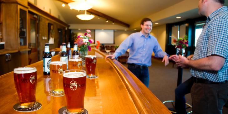 Deschutes Brewery Mountain Room wedding Willamette Valley