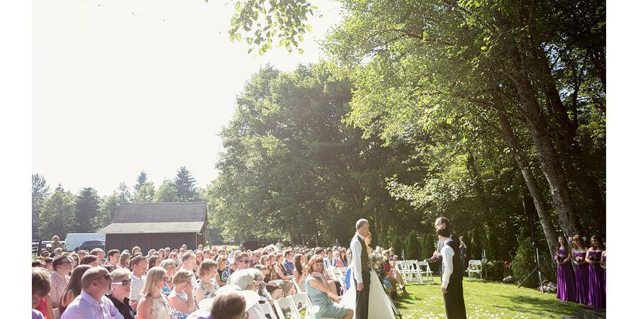 Knoll Crest Gardens wedding Portland