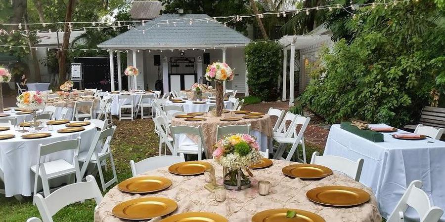 Old Island Restoration Foundation wedding Florida Keys