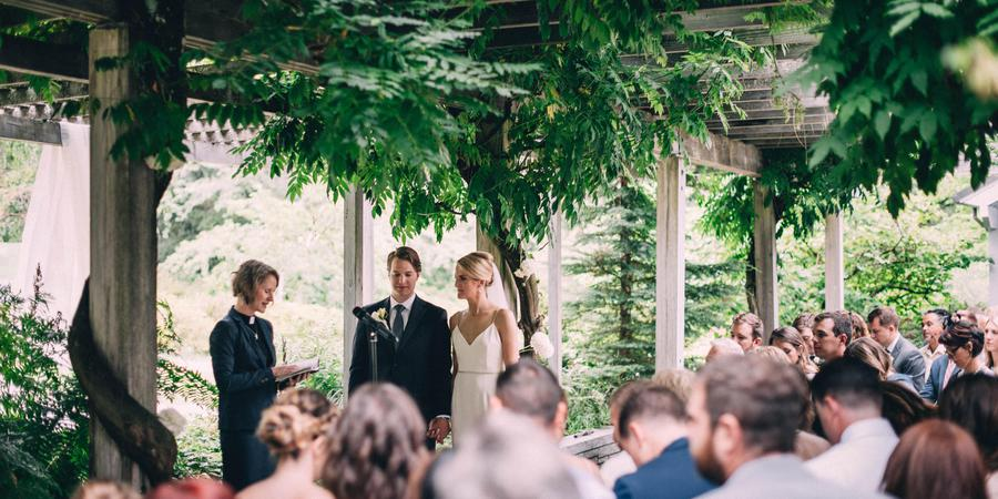 Wisteria Hall in the Washington Park Arboretum wedding Seattle
