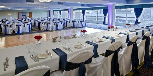 Radisson Hotel Rochester Riverside wedding Finger Lakes