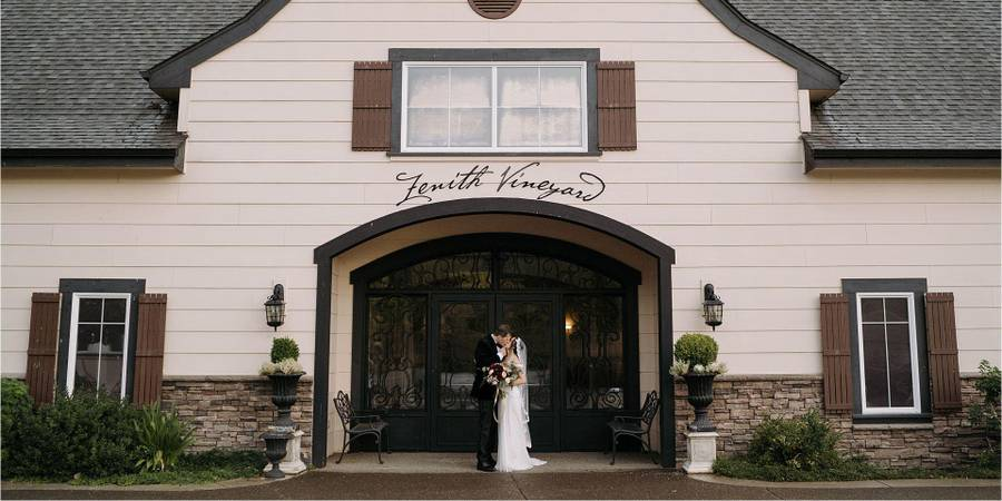Zenith Vineyard wedding Willamette Valley