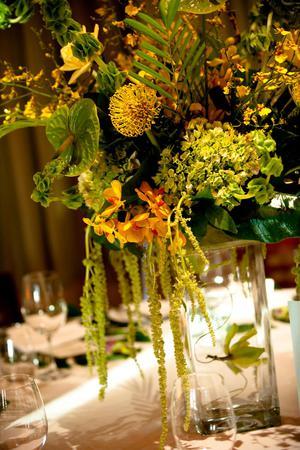 Wolfgang Puck's Spago Restaurant wedding Maui