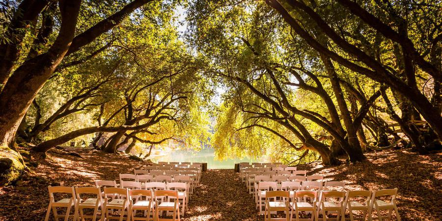 Leonard Lake Reserve wedding Napa/Sonoma