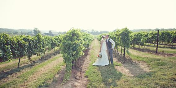 Crown Valley Winery wedding Southeast Missouri