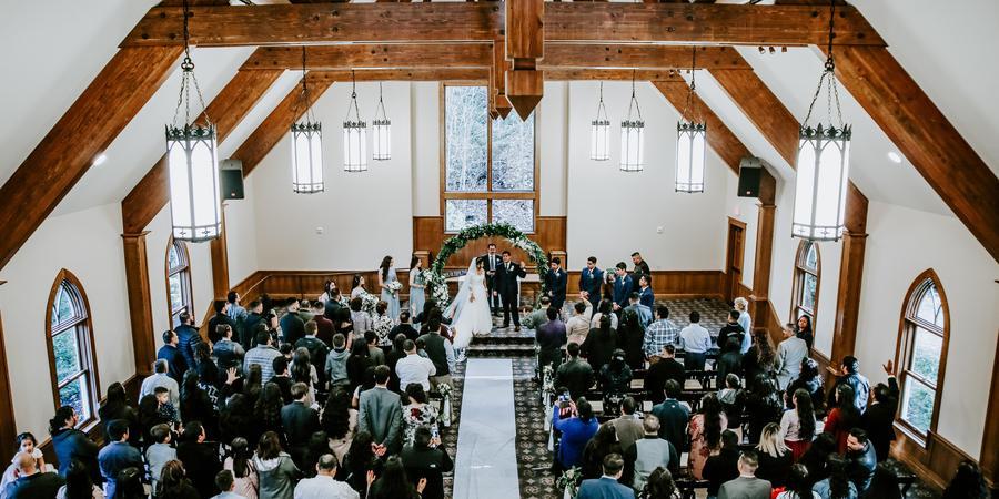 Abernethy Center wedding Portland