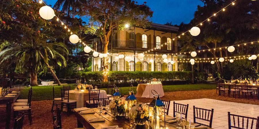 Ernest Hemingway House and Museum wedding Florida Keys