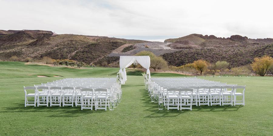 DragonRidge Country Club wedding Las Vegas