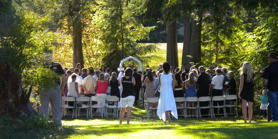 Gleneagle Golf & Country Club wedding Everett