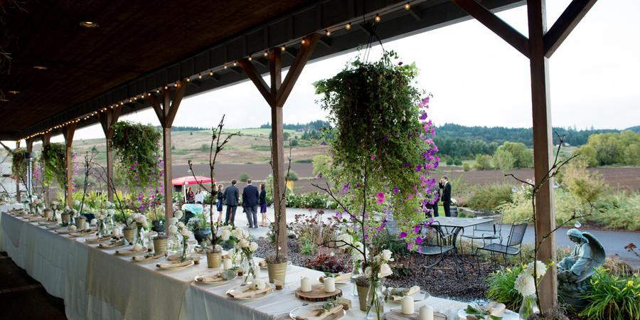 Laurel Ridge Winery wedding Portland
