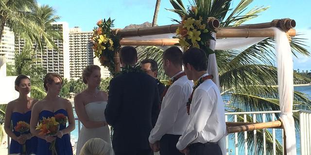 Hula Grill Waikiki wedding Honolulu