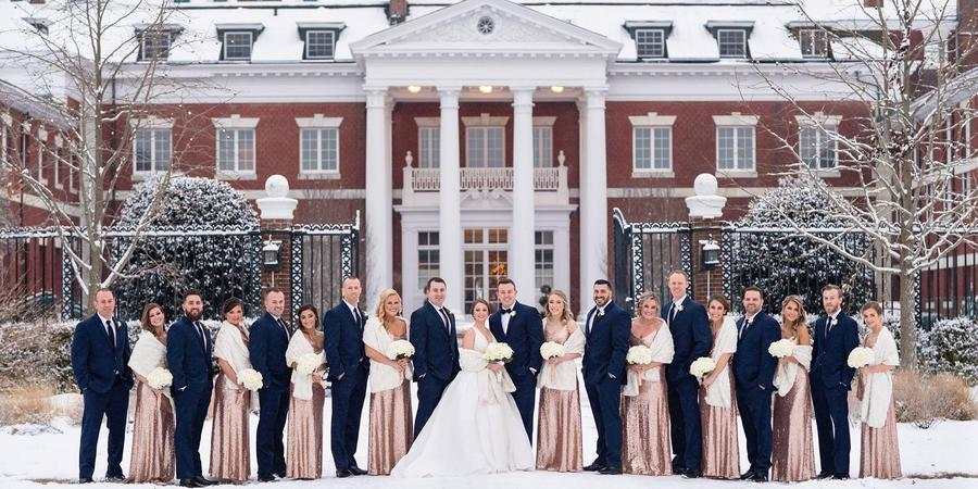 Bourne Mansion wedding Long Island