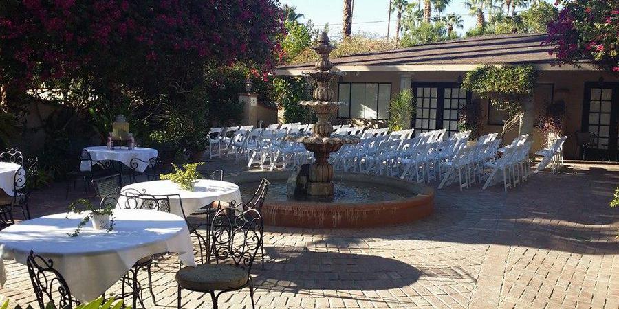 Villa Royale Inn wedding Palm Springs