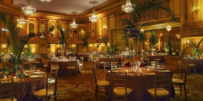 Palmer House Hilton wedding Chicago