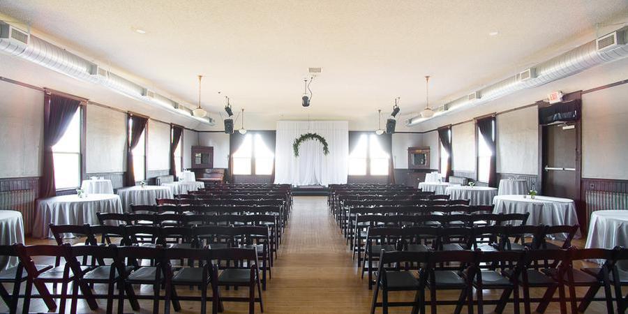 The Village Ballroom wedding Portland