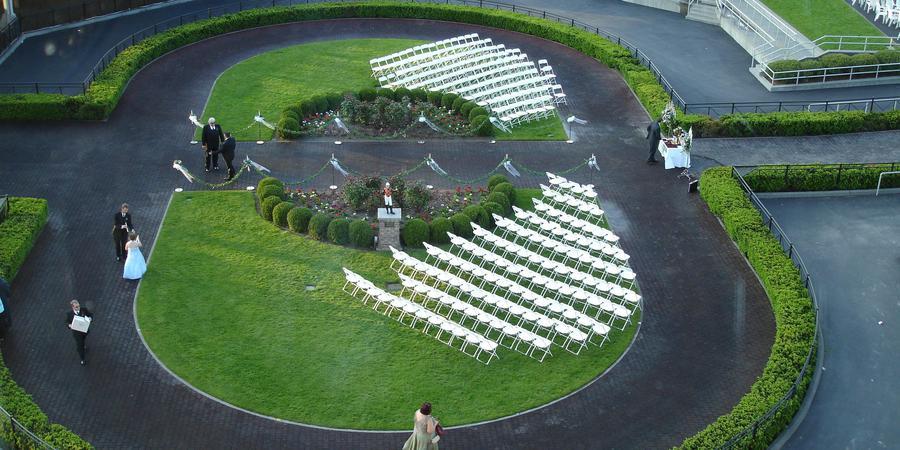 Emerald Downs wedding Seattle