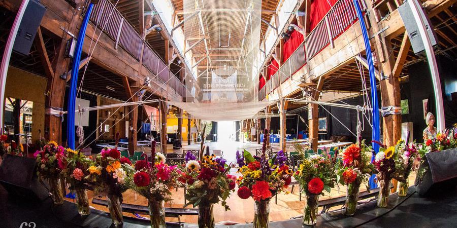 Emerald City Trapeze wedding Seattle