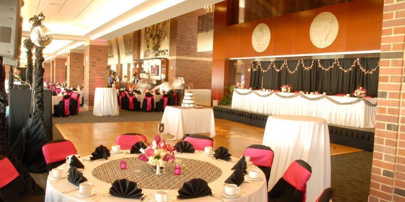 Colonnades Club at Memorial Stadium wedding Central Illinois