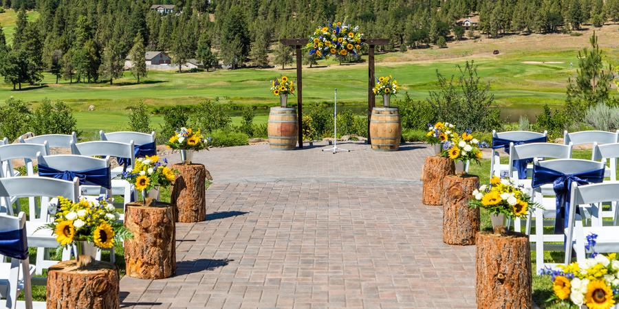 Running Y Ranch wedding Southern Oregon