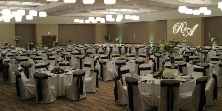 I Hotel and Conference Center wedding Central Illinois